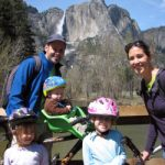 Biking at Yosemite with little kids and a toddler