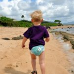 Toddler in Kauai - Buy a box of Huggies Hawaiian diapers and help diaper a baby in need for a day