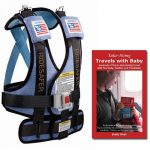 The RideSafer Travel Vest with Take-Along Travels with Baby guidebook