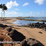 The beach at Salt Pond Park, Kauai, in the early morning