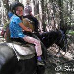 girl on horse, YOsemite