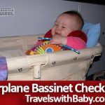 airplane bassinet for infant