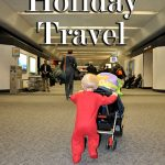 holiday travel with babies airport
