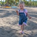 Nineteen month toddler in hawaii