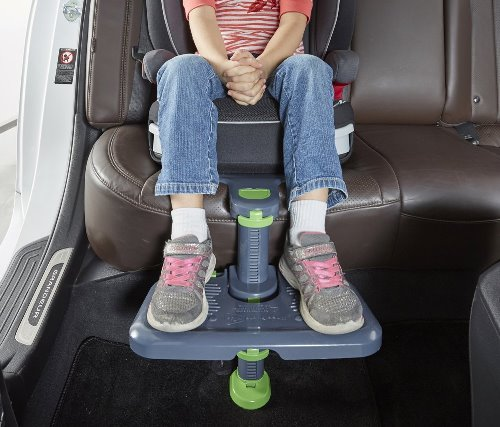 Little legs needn't dangle down that long and winding road. Let's hear it for car trips in comfort!