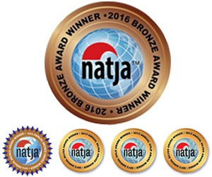 NATJA awards seals