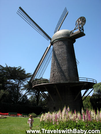 Wilhelmina Windmill in San Francisco's Golden Gate Park