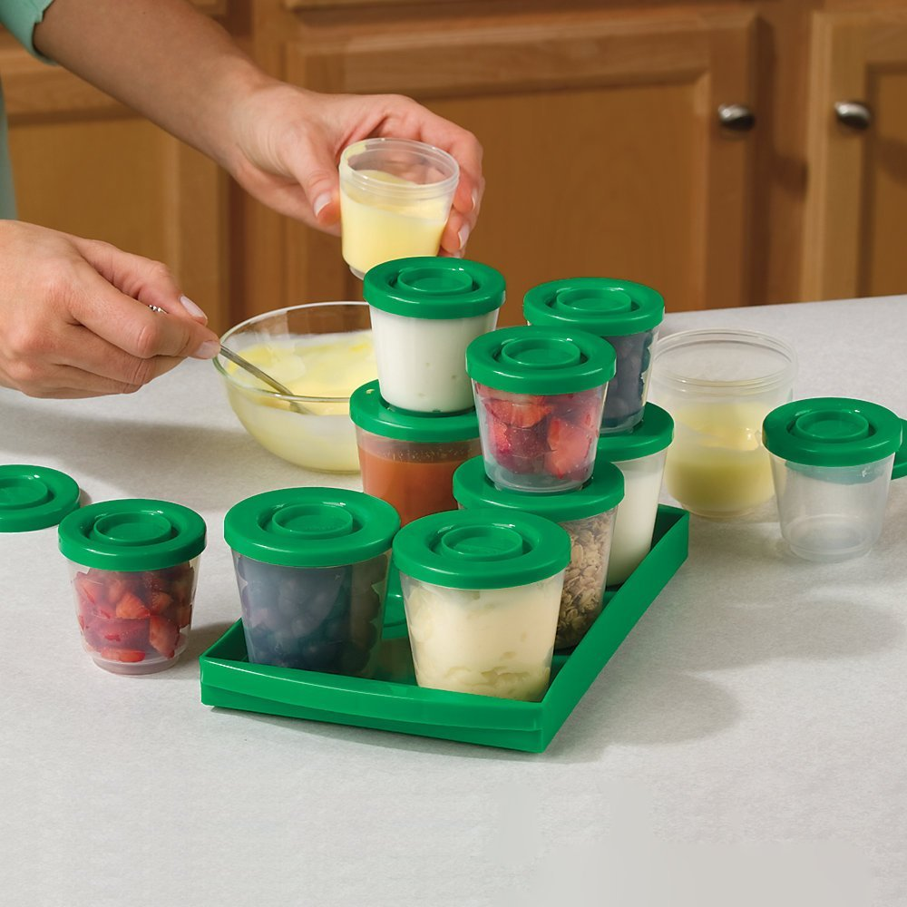 How To Freeze Baby Food Containers