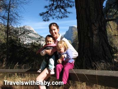 The first time I took 2 kids to Yosemite