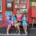 Aloha Express juice and smoothie truck at Hanalei, Kauai