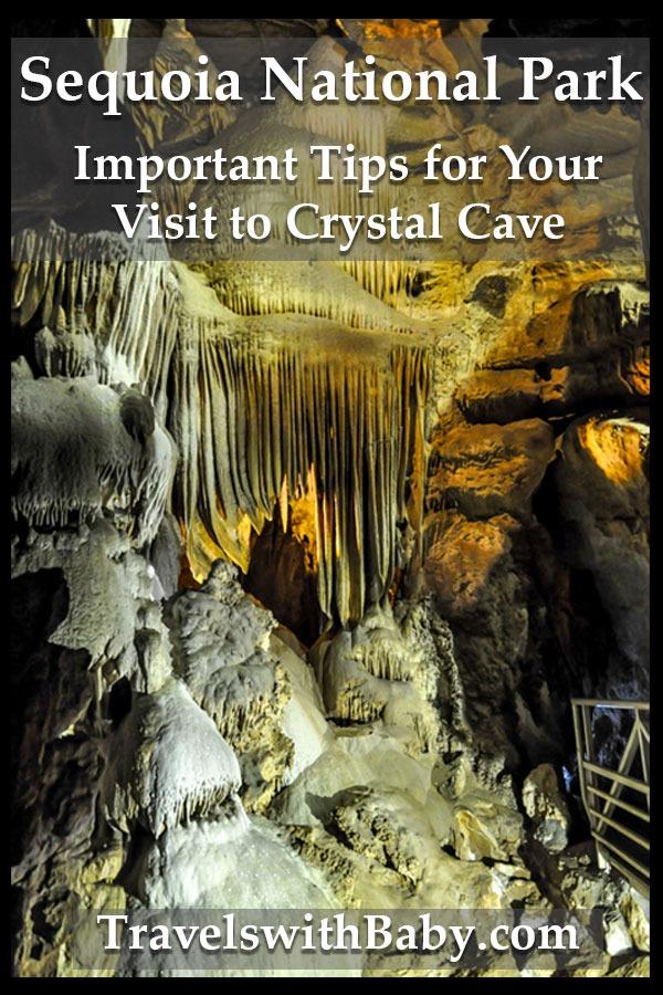 stalactites inside crystal cave