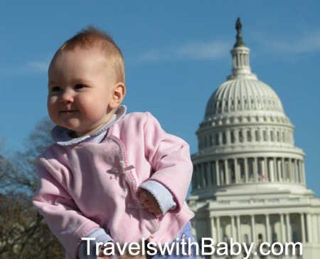 Washington D.C. with Baby