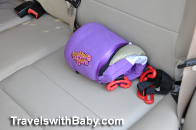 Review of the BubbleBum inflatable safety booster
