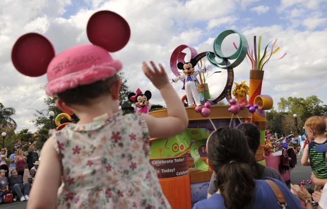 toddler at Walt Disney World