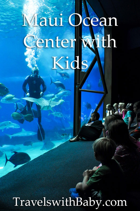 Maui Ocean Center with kids
