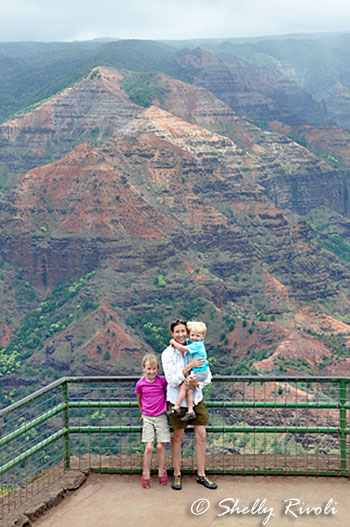 WAimea Canyon Overlook, Kauai