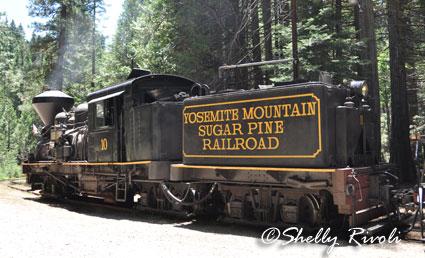 steam engine at YOsemite