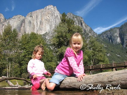 toddlers at Yosemite