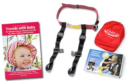Smoother travels ahead with the CARES flight safety harness and new edition of Travels with Baby: The Ultimate Guide for Planning Travel with Your Baby, Toddler, and Preschooler.