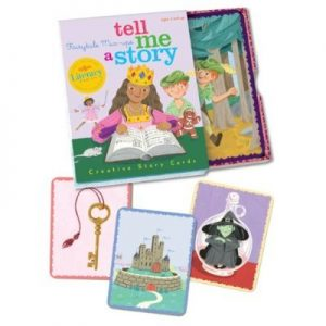 "The ""Fairytale Mix-ups"" set of Tell Me a Story cards"
