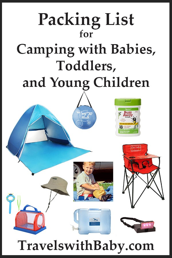 Packing List for Camping with Babies, Toddlers, and Young Children