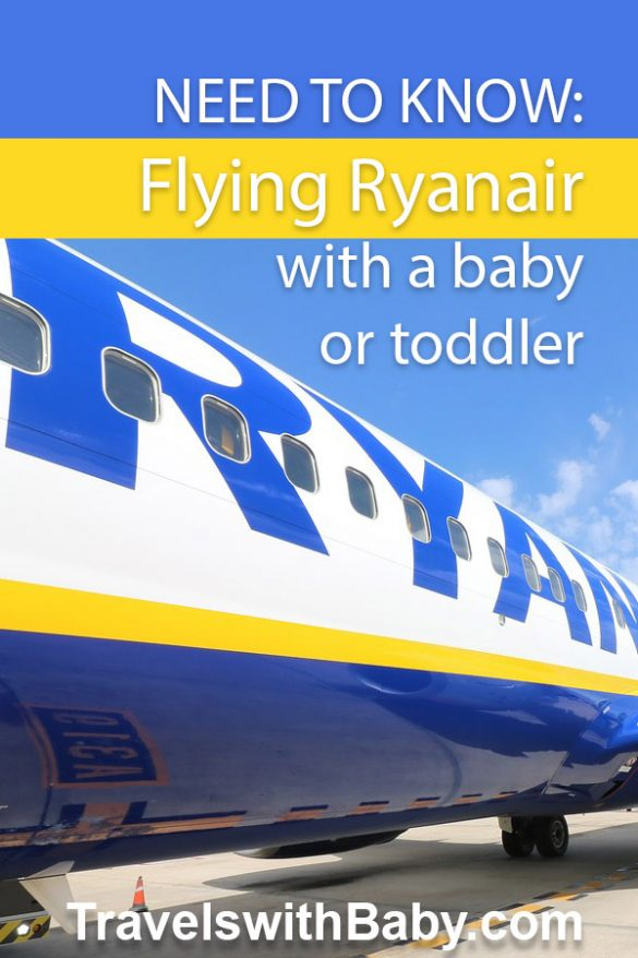 tips to fly ryanair with a baby or toddler