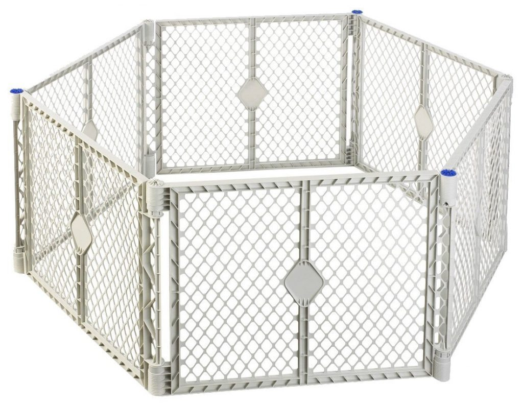superyard play yard or fence for camping with toddlers and babies