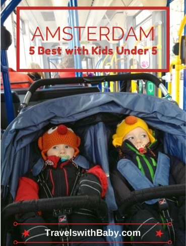 Visiting Amsterdam with a baby, toddler, or little kids? No problem! This post's got you covered. Photo credit: Farrah Ritter