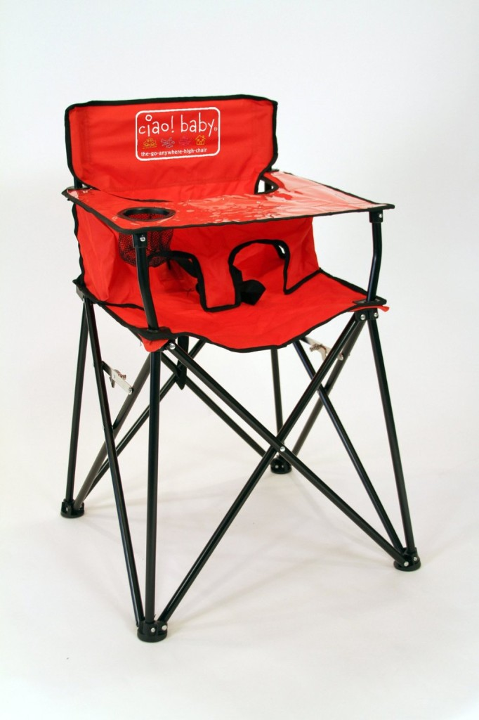 f396f7fbad1 The roadtrip-ready Ciao! Baby portable high chair weighs in at just 8 lbs