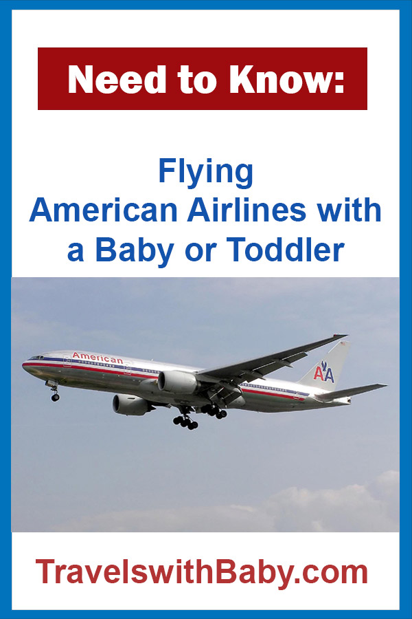 Flying American Airlines with baby or toddler tips and advice