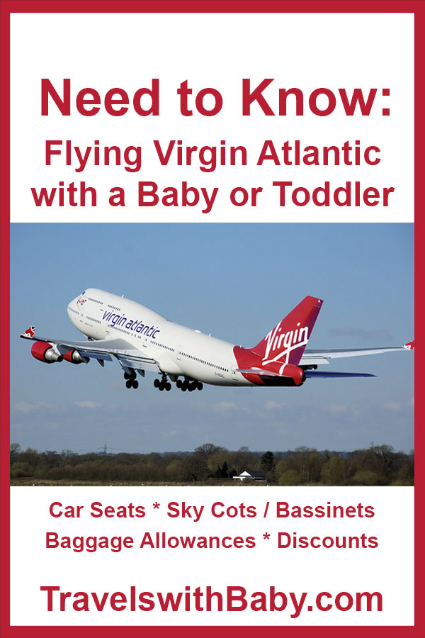 flying Virgin Atlantic with a baby or toddler