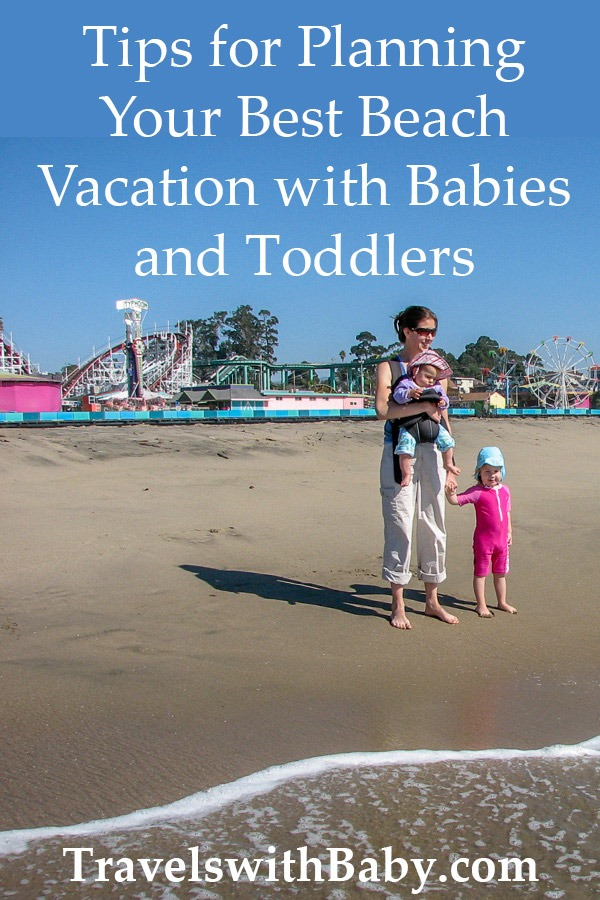 recommended beache vacations for babies and toddlers