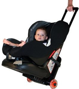 TravelMate for flying with car seats