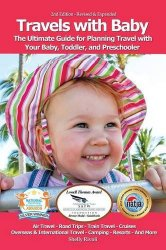 travels with baby book cover, for tips on flying solo with a baby