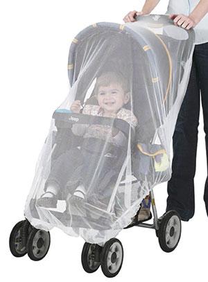 stroller net to prevent mosquito bites