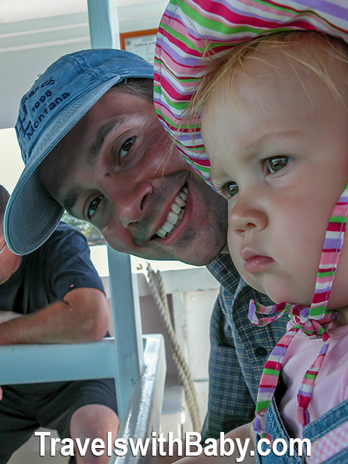 Somewhere on a glass bottom boat in the islands sits a child who is not so sure she is going to like it. Fear not. Advice for travel with the negative child is here!