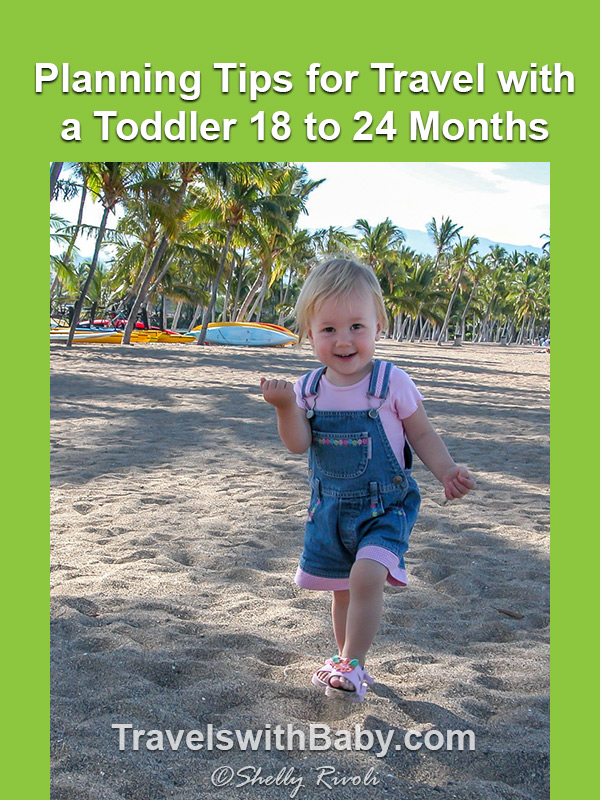 Tips for Travel with a Toddler 18 to 24 months pinnable