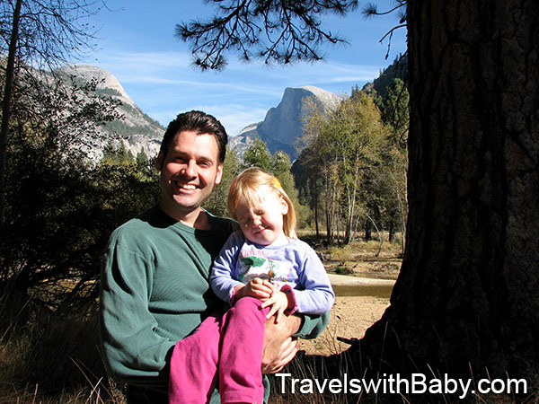 travel with a toddler yosemite