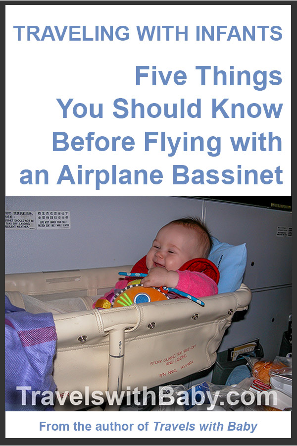 Five things you should know before flying with an airplane bassinet
