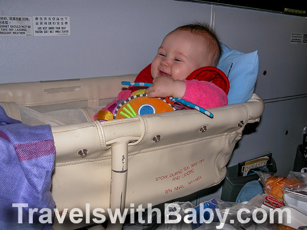 Planning to fly with an airplane bassinet for your baby? Read this first!