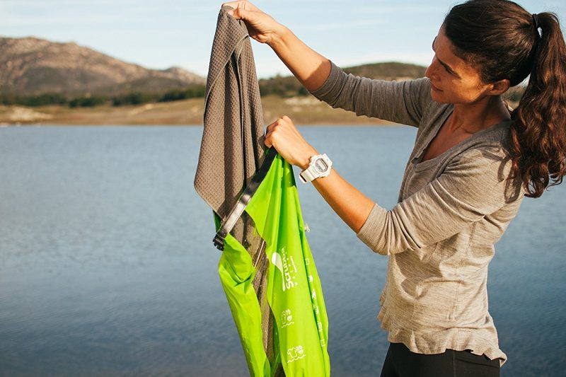 Scrubba for travel laundry with kids