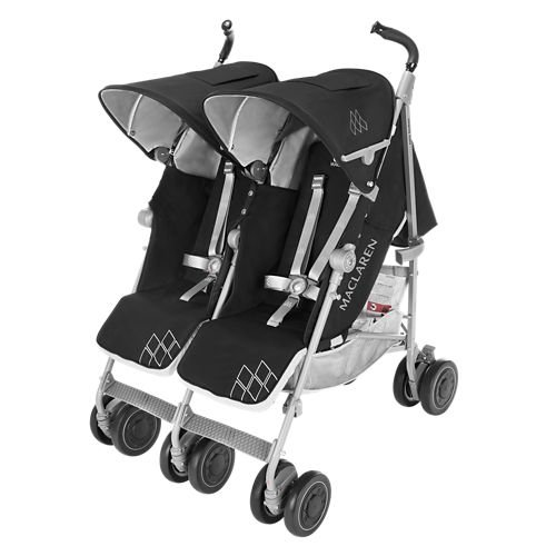 Maclaren twin techno travel stroller 2017