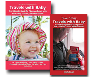 Travels with Baby guidebooks by Shelly Rivoli