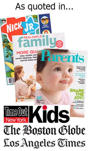 Travels with baby quoted in magazines and newspapers