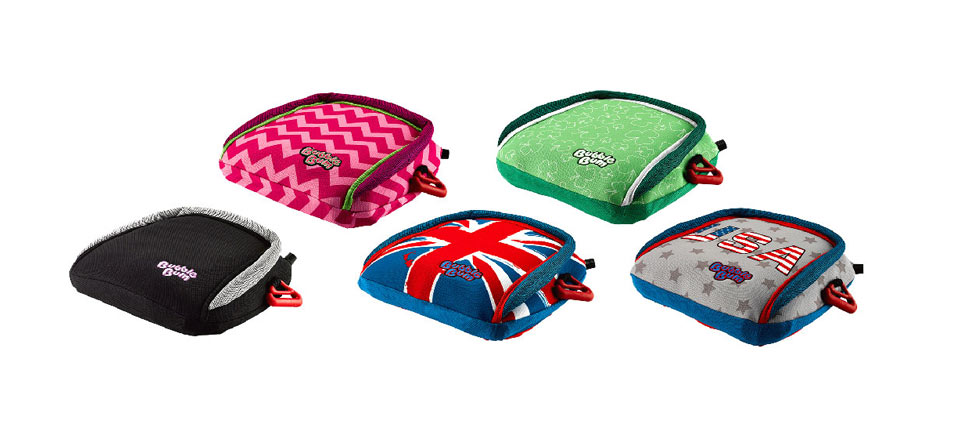 review of bubblebum safety booster for travel