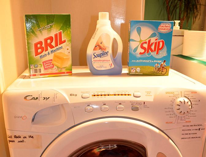 laundry hacks for family travel, Paris
