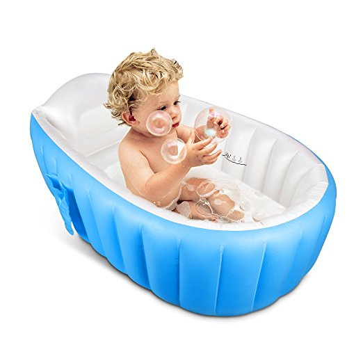 inflatable bathtub to pack for a cruise with a baby