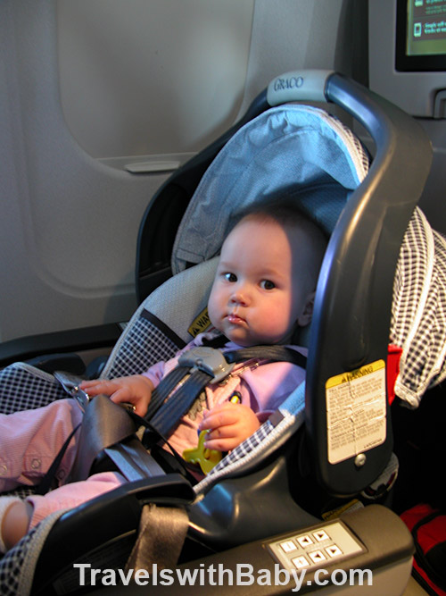 tips for using car seats on airplanes