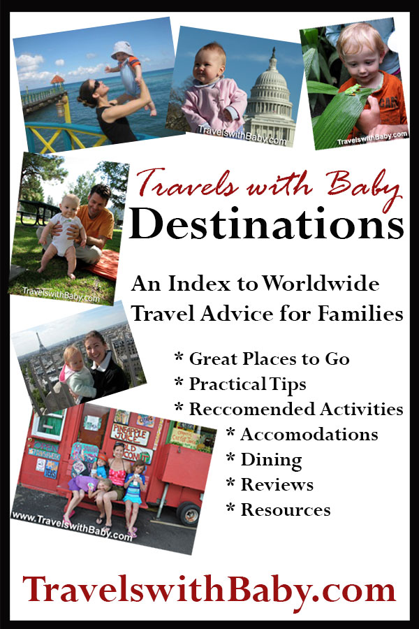travels with baby destinations