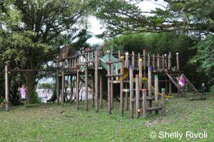 Arenal Lodge playground for kids visiting Costa Rica